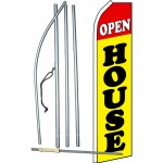 Open House Yellow Swooper Flag Bundle