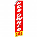 Pre-Owned Cars Red Swooper Flag