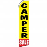 Camper Sale Yellow Swooper Flag