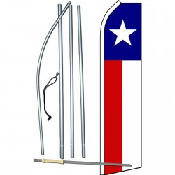 Texas State Swooper Flag Bundle