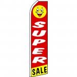 Super Sale Smiley Face Swooper Flag