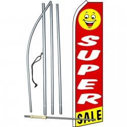 Super Sale Smiley Face Swooper Flag Bundle