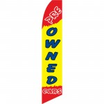 Pre-Owned Cars Yellow Swooper Flag