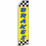 Brakes Yellow Swooper Flag