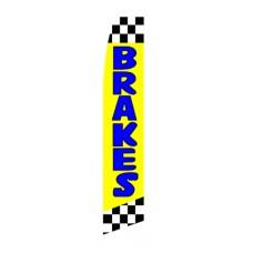 Brakes Yellow Swooper Flag