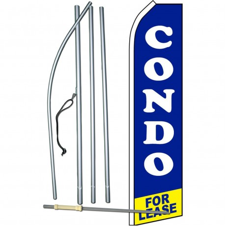 Condo For Lease Swooper Flag Bundle