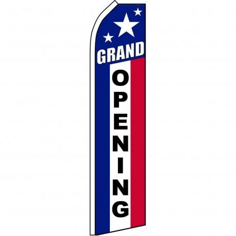 Grand Opening Patriotic Swooper Flag