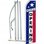 Grand Opening Patriotic Swooper Flag Bundle