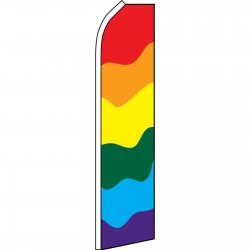 Rainbow Swooper Flag