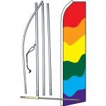 Rainbow Swooper Flag Bundle