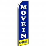 Move In Special Blue Swooper Flag