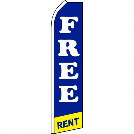 Free Rent Swooper Flag