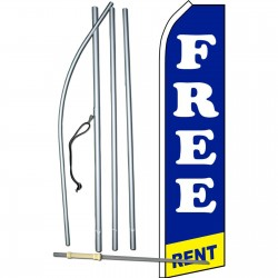 Free Rent Swooper Flag Bundle