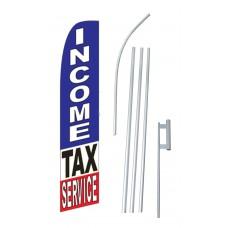 Income Tax Service Swooper Flag Bundle