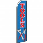 Tools Blue Swooper Flag