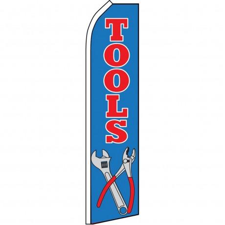Tools Blue Swooper Flag