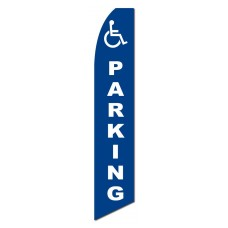 Handicap Parking Swooper Flag