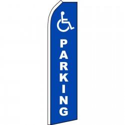 Handicap Parking Swooper Flag