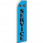 A/C Service Blue Swooper Flag