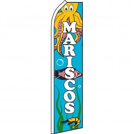Mariscos Octopus Swooper Flag
