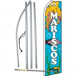 Mariscos Octopus Swooper Flag Bundle