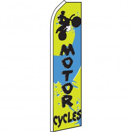 Motorcycles Swooper Flag