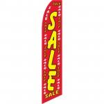 Sale Red Dollars Swooper Flag