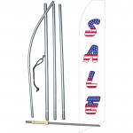 Sale USA Swooper Flag Bundle