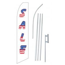 Sale USA Swooper Flag Bundle