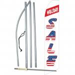 Holiday Sale USA Swooper Flag Bundle
