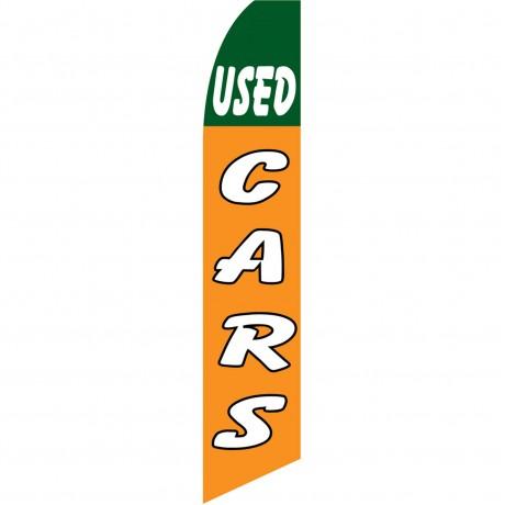 Used Cars Orange Swooper Flag
