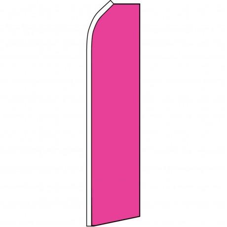 Solid Pink Swooper Flag