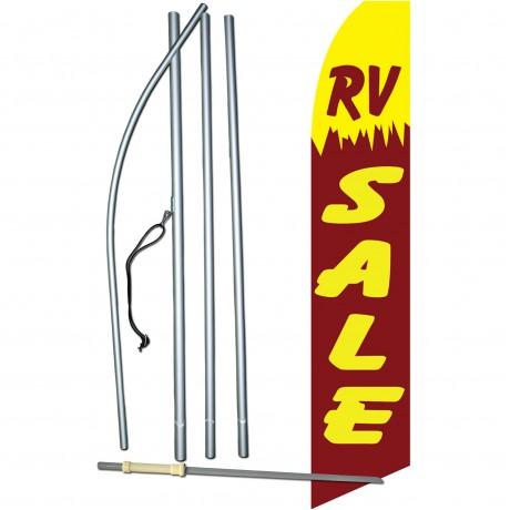 RV Sale Yellow Swooper Flag Bundle