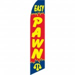 Easy Pawn Red Swooper Flag