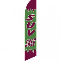 SUV Sale Swooper Flag