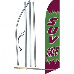 SUV Sale Swooper Feather Flag Bundle