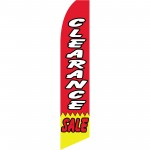Clearance Sale Red Yellow Swooper Flag