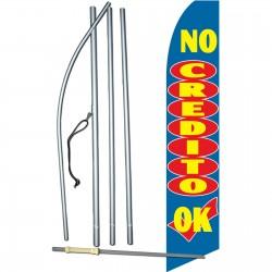No Credito OK Swooper Flag Bundle