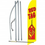 Red Tag Sale Yellow Swooper Flag Bundle
