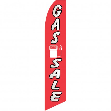 Gas Sale Swooper Flag