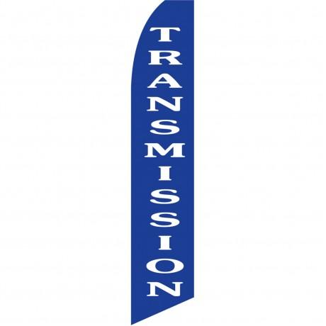 Transmission Blue Swooper Flag