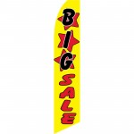 Big Sale Yellow Swooper Flag