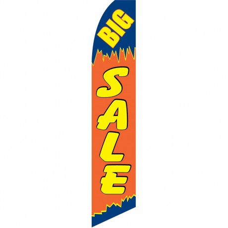 Big Sale Orange Swooper Flag