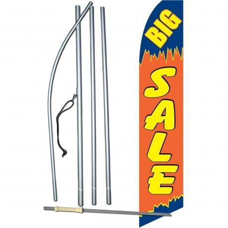 Big Sale Orange Swooper Flag Bundle