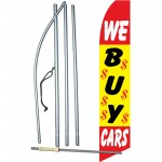 We Buy Cars $ Swooper Flag Bundle