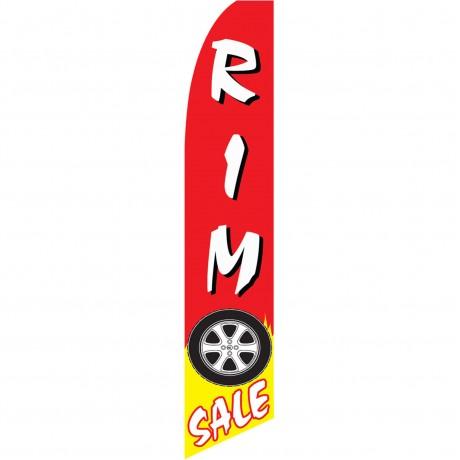 Rim Sale Swooper Flag