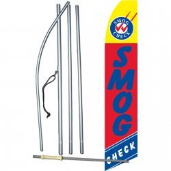 Smog Check Red Swooper Flag Bundle