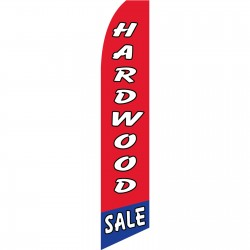 Hardwood Sale Red Swooper Flag