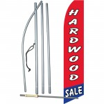 Hardwood Sale Red Swooper Flag Bundle