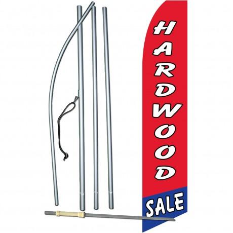 Hardwood Sale Red Swooper Flag Bundle